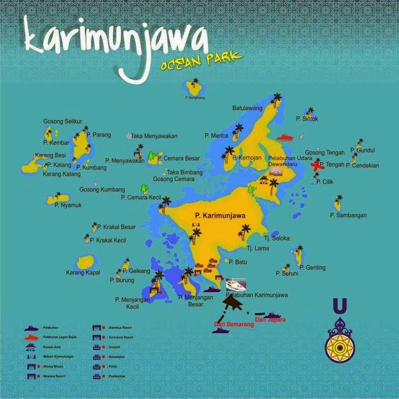 Peta Karimunjawa