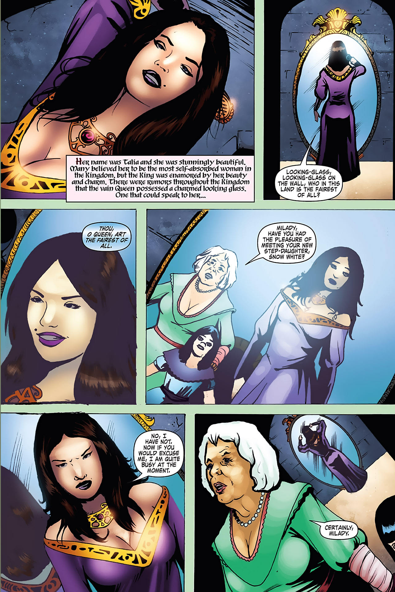 Grimm Fairy Tales (2005) Issue #7 #10 - English 8