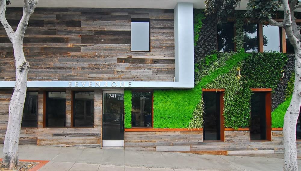Planos low cost fachada ecol gica para un hotel - Materiales de fachadas ...