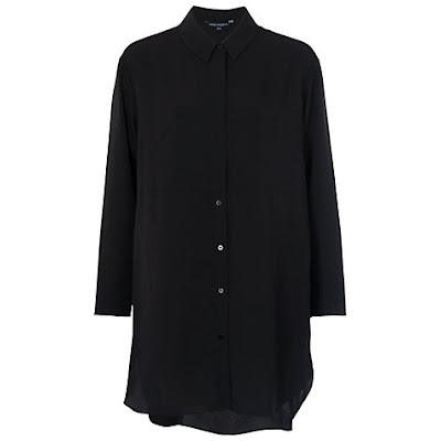 French Connection Samantha Crepe Shirt