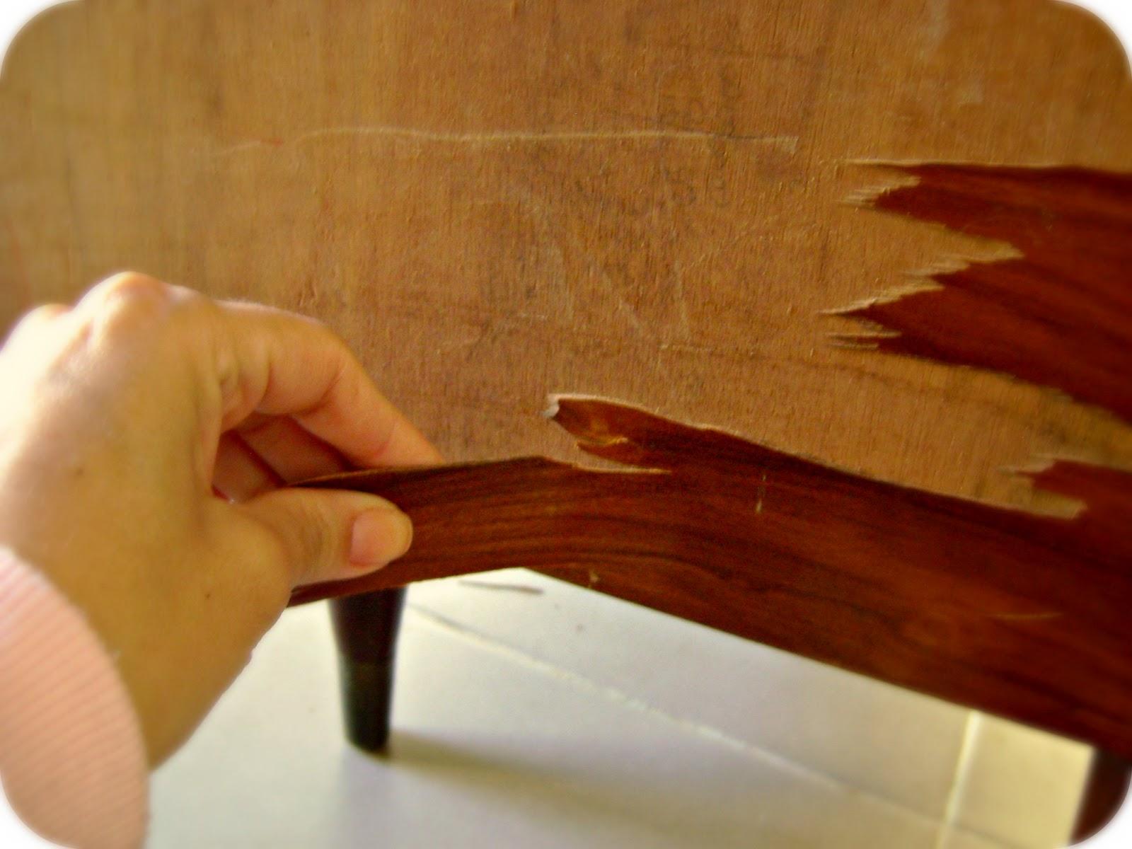 de madeira colada que estava quase toda solta então acabei de #460A00 1600x1200