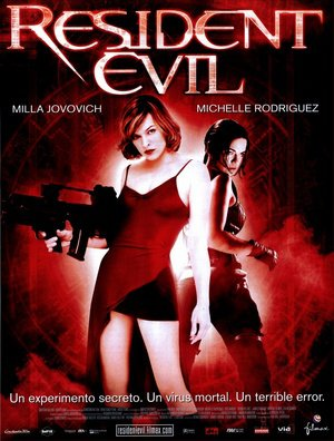 Poster Resident Evil 2002