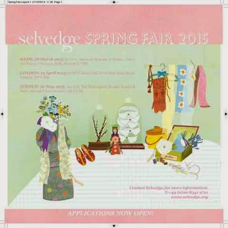Selvedge Spring Fair @ The Subscription Rooms, Stroud, Gloucestershire   16th May 2015