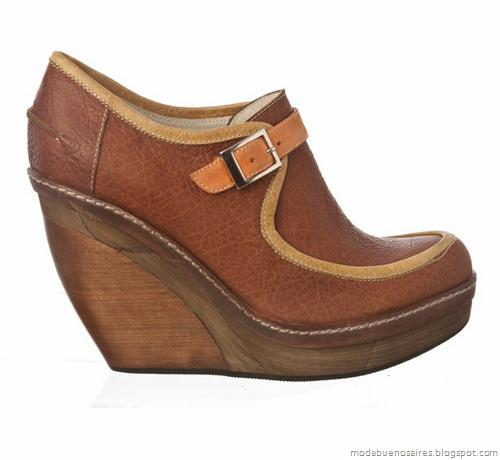 Carla Danelli otoño invierno 2012. Carteras, zapatos y accesorios.Zapatos invierno 2012.