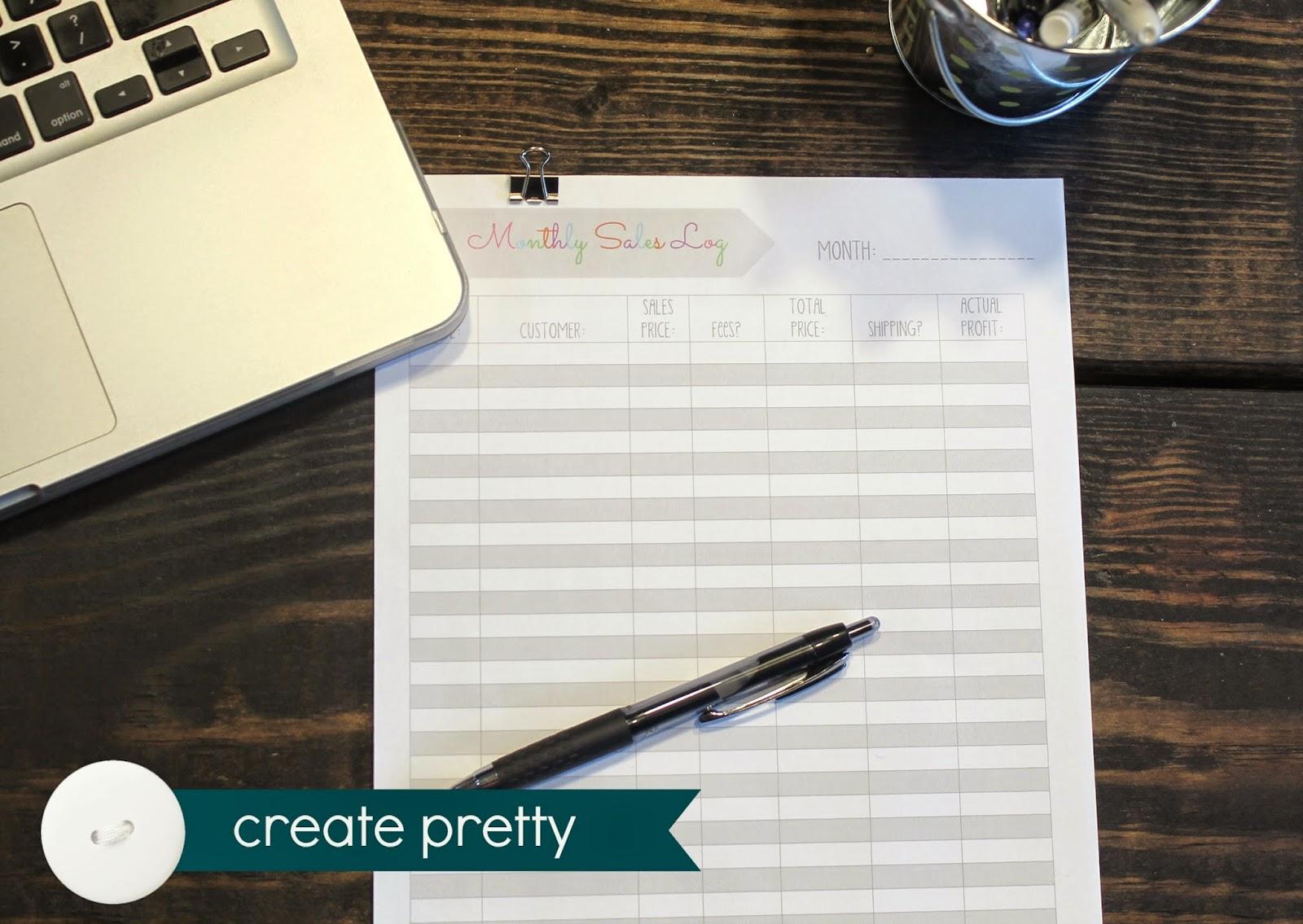 create pretty blog small business tax bundle printables