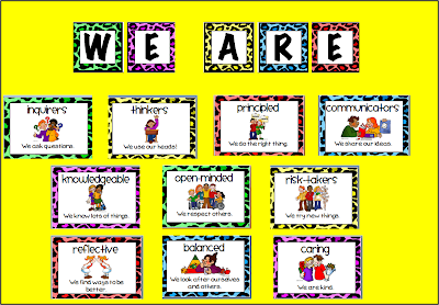 A Crucial Week: IB Learner Profile Posters