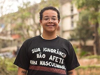 Marcelo Caetano conseguiu direito de usar nome que escolheu em documentos internos da UnB mas espera regulamentação (Foto: Mariana Costa/UnB Agência)