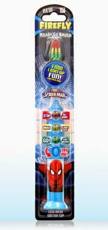 Spider-Man Ready Go Light Up Toothbrush
