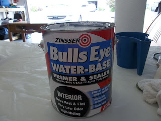 Vintage, Paint and more... Zinsser paint primer, can of Zinsser