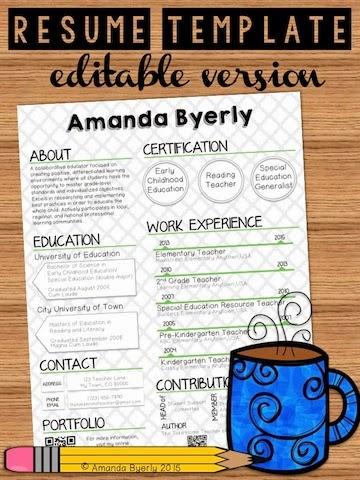 teaching portfolio template free - the take home teacher online teacher portfolio