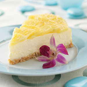 pina colada cheesecake recipe easy dessert recipes