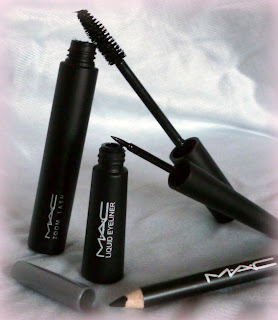 MAC Eyeliner, MAC Mascara Zoomlash, MAC liquid eyeliner