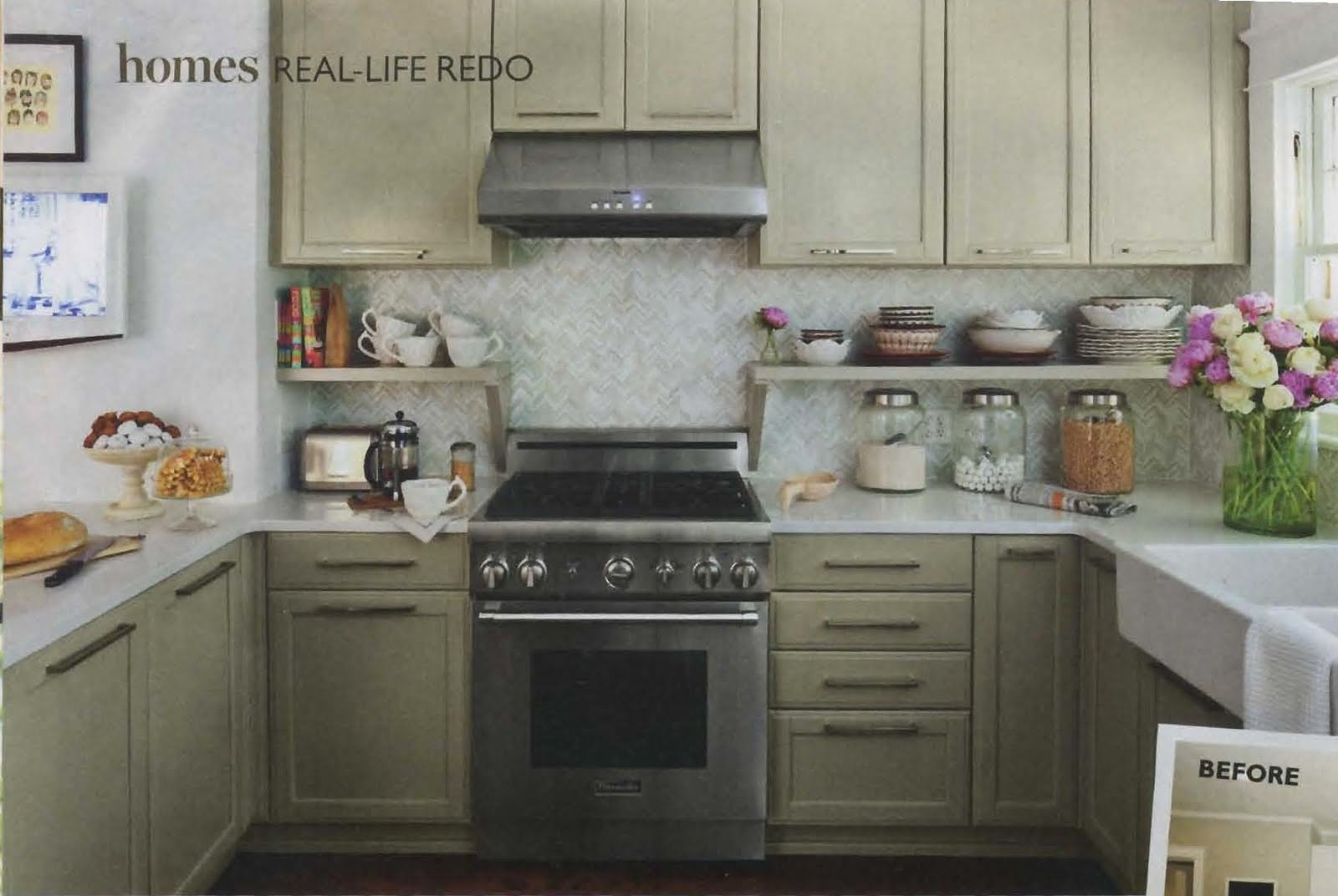 green street two small yet stylish kitchens. Black Bedroom Furniture Sets. Home Design Ideas