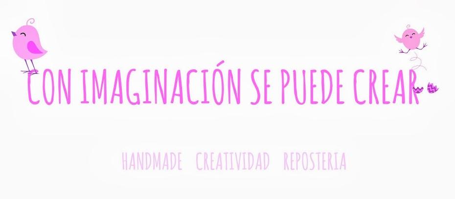 Con imaginación se puede crear