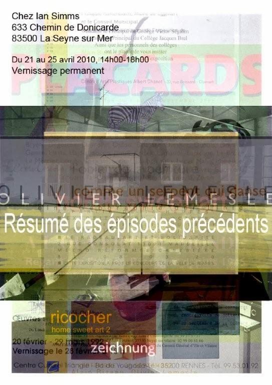 Résumé des épisodes précédents