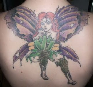 fairy tattoo with optomal design