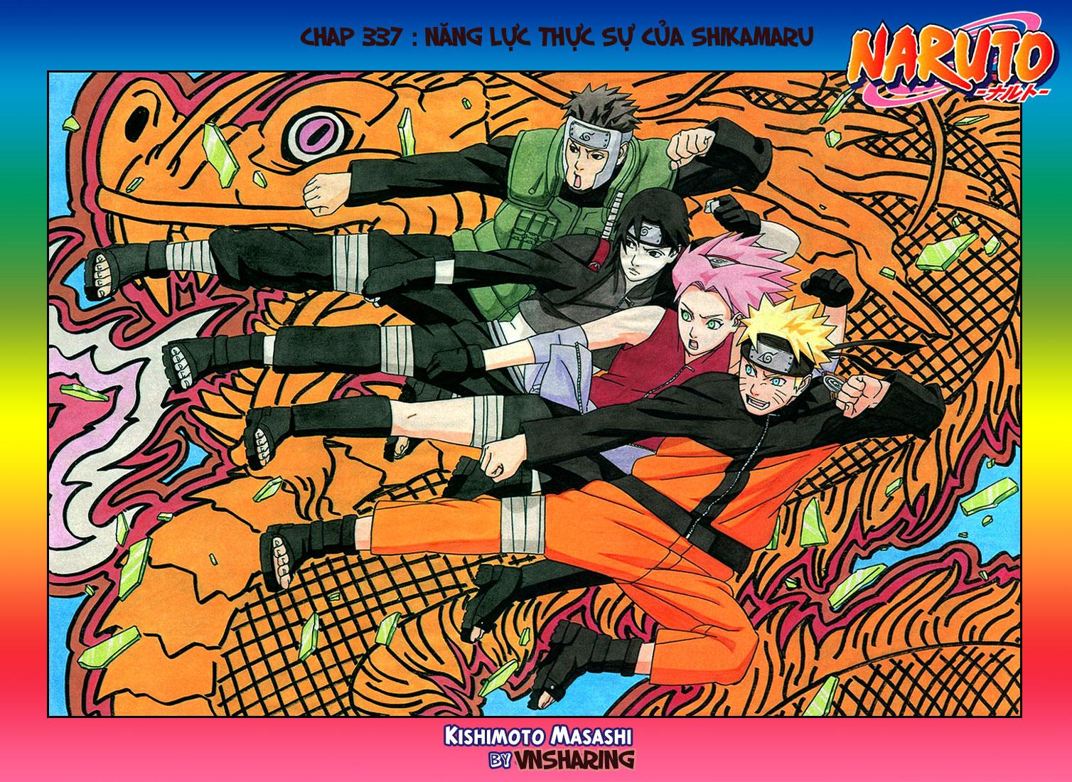Naruto chap 337 Trang 2 - Mangak.info