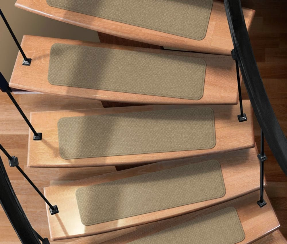 Captivating Carpet Stair Treads