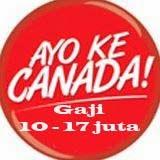 DIBUTUHKAN SEGERA Caregiver Canada. Gaji 10 - 17 Juta