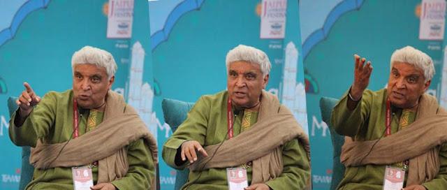javed akhtar at jaipur literarture festival