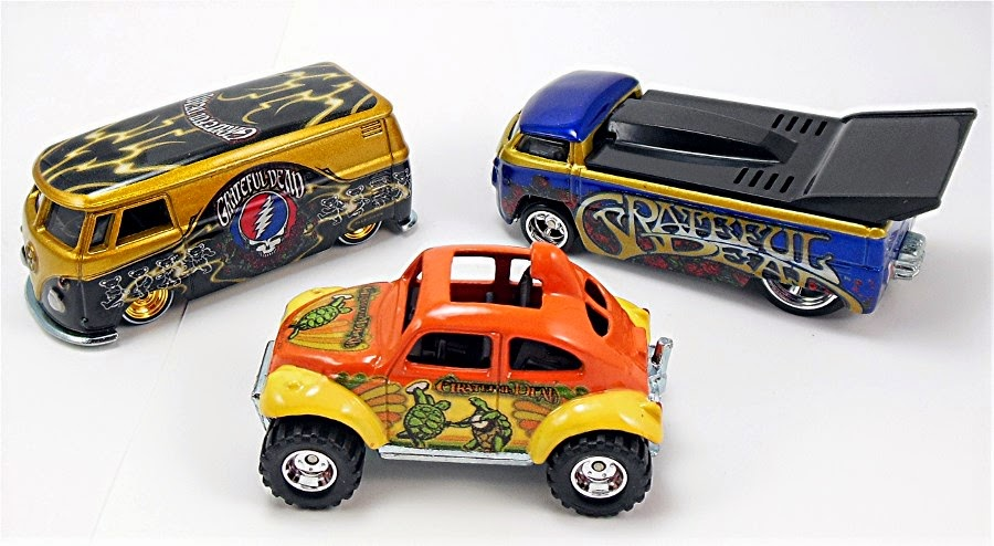 Grateful Dead VW Hot Wheels