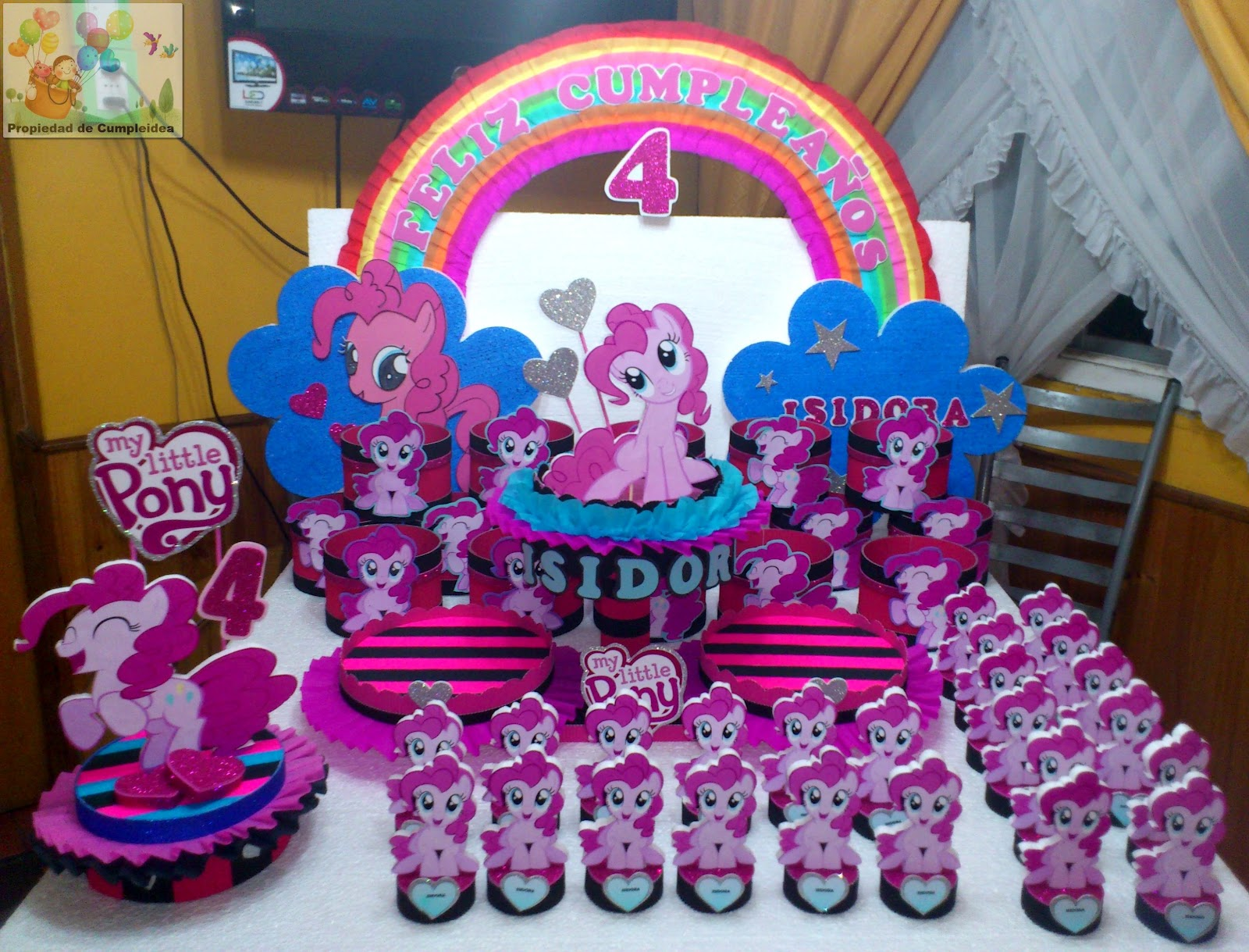 Decoraciones Infantiles Pack My Little Pony | Auto Design Tech - photo#20