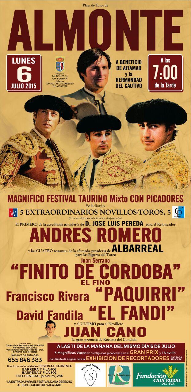 Festival Almonte 6 de julio