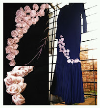 DIY 4: Roses for dress