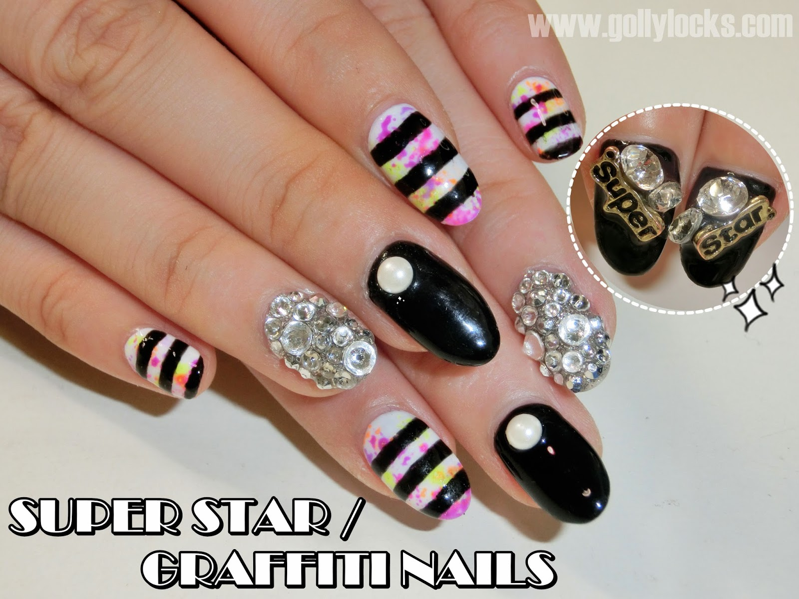 gollylocks-superstar-graffiti-nail