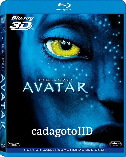 Avatar 3D SBS 2009 BDRip 1080p Latino 5.1/Ingles DTS Sub