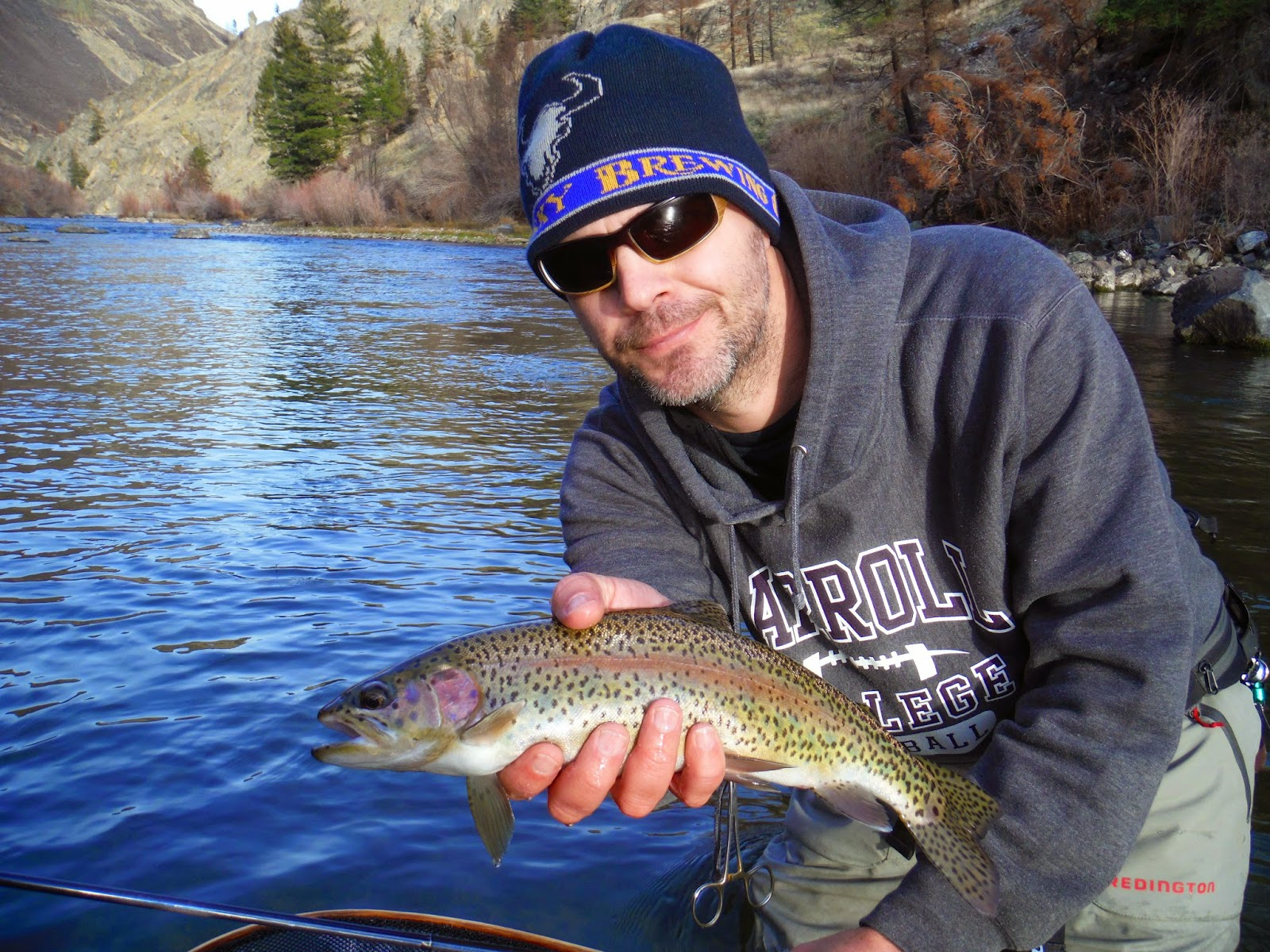 Erik s fly fishing blog winter dry fly for Hank patterson fly fishing