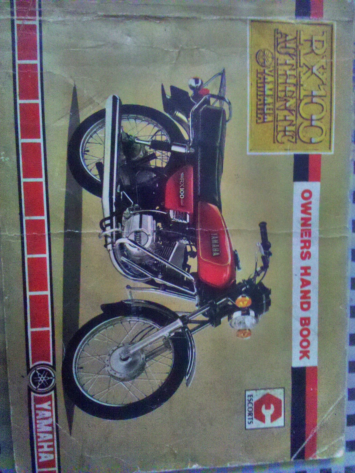 rare motorcycle yamaha rx 100 owners manual rh oldraremotorcycles blogspot com Yamaha RX 100 Modified yamaha rx 100 service manual