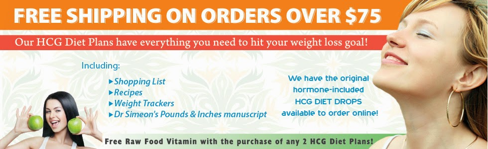 Free shipping HCG diet supply