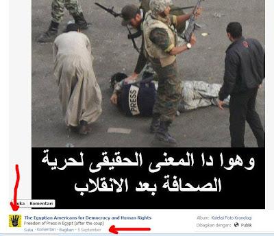 foto hoax pro Mohammed Morsi