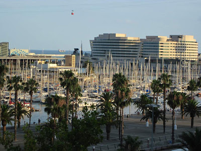World Trade Center and Port Vell in Barcelona