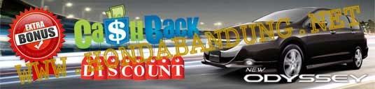 Price List New Honda Odyssey Bandung