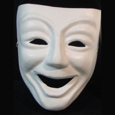 Sorprendido con la máscara abajo