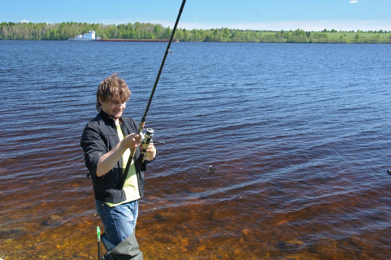 рыбалка в вологодской области на меня