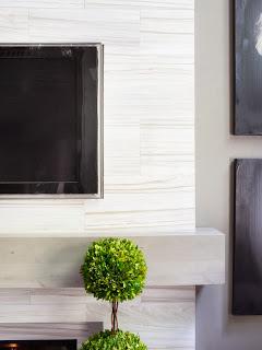 Desain Ruangan Nuansa Hitam dan Putih