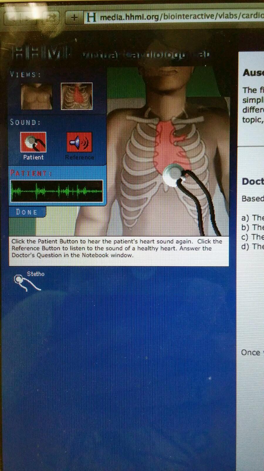 Human Anatomy & Physiology: Virtual Cardiology Lab