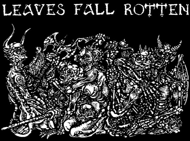 Leaves fall rotten