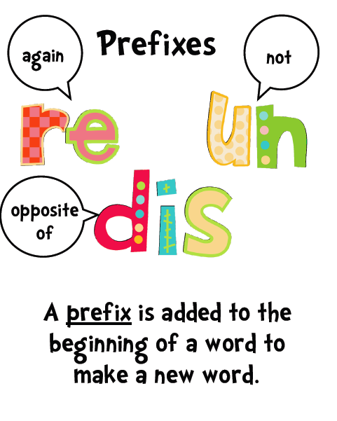 Lois Dalphinis : Prefixes and Suffixes
