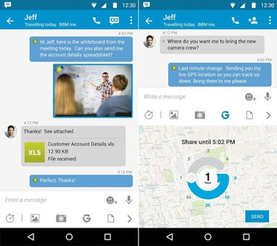 BBM 2.9.0.44 Material Design (Official) for Android