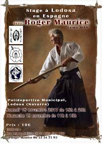 Curso de Aikido con Roger Maurice