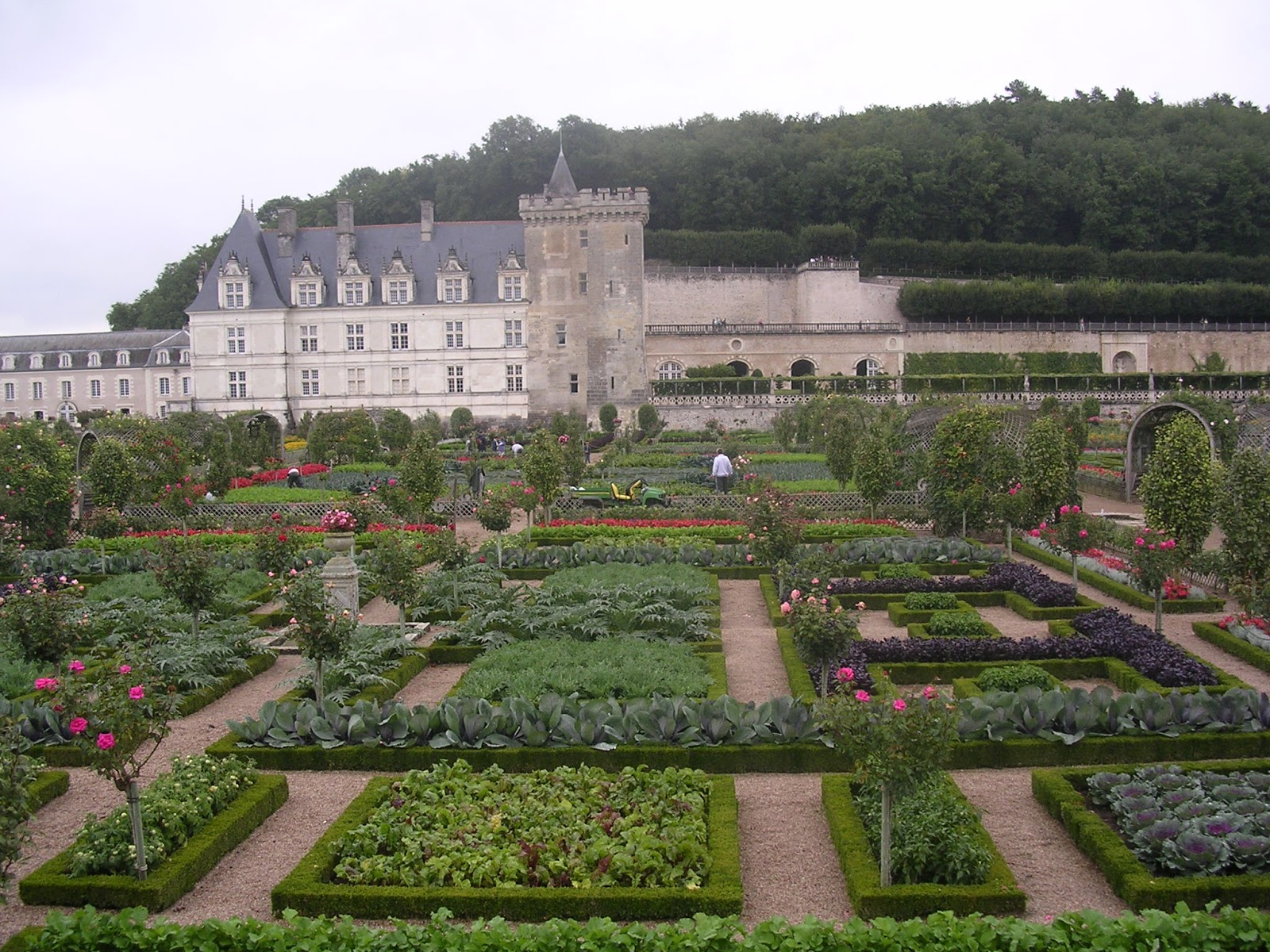 landscapes gardens design chateau de villandry. Black Bedroom Furniture Sets. Home Design Ideas