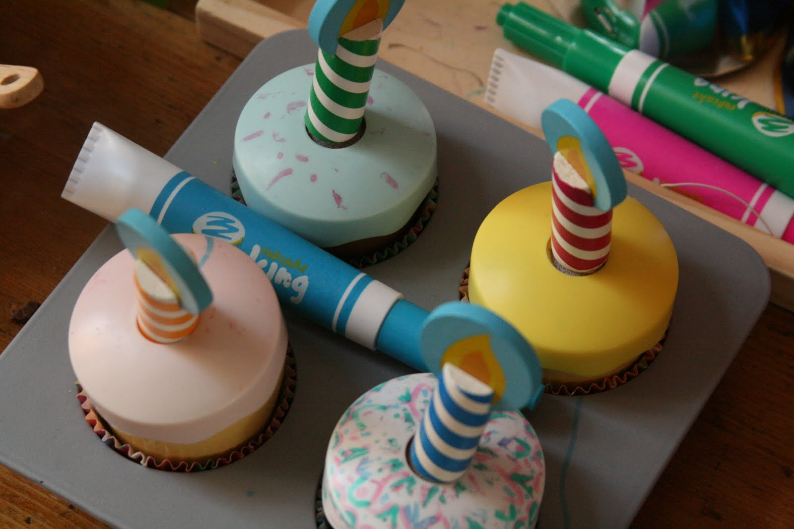 We Have Lots Of Kitchen Toys And Real Implements For Imaginative Cake Mixing Baking Decorating Whisks Spatulas Cup Cases Candles Bring A