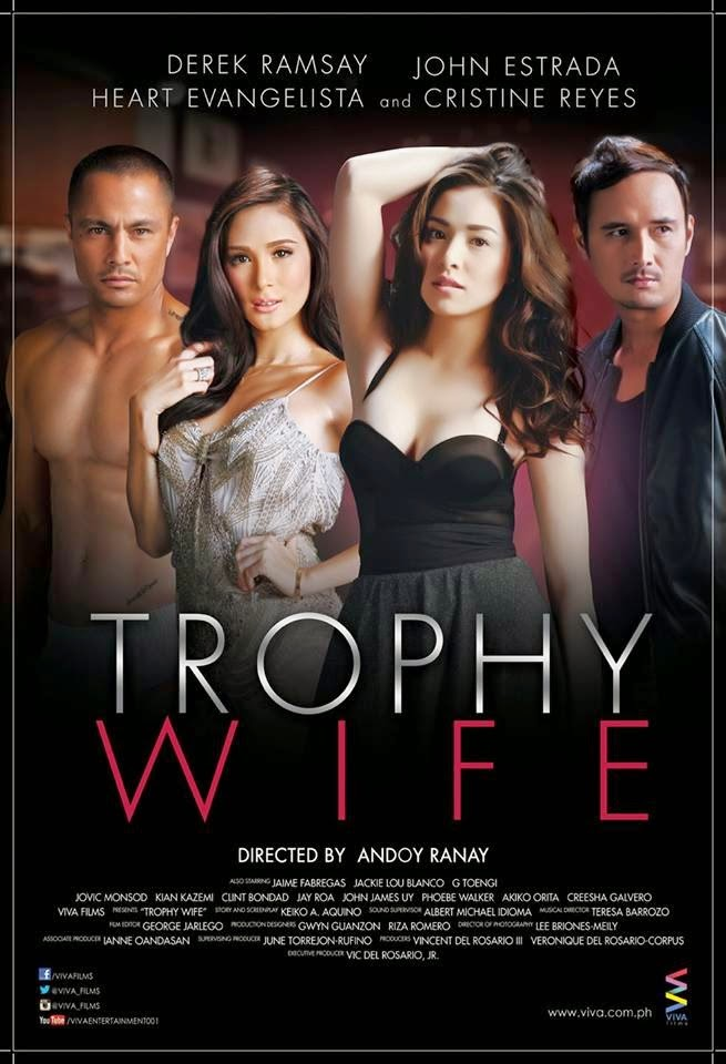 TROPHY WIFE Official Movie Poster 2014