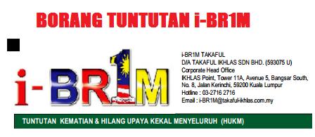Borang Tuntutan i-BR1M