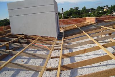 Como fazer um telhado embutido