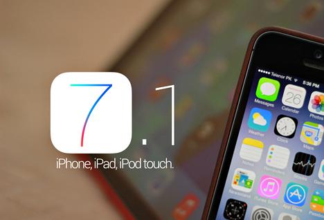 Apple iOS 7.1 Firmware
